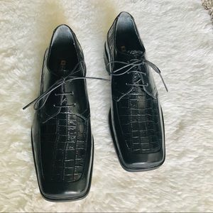 NWOT Stacy Adams Leather Oxfords Dress Shoes 9.5 M